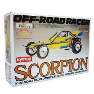 Details about Kyosho 1:10 2WD R Buggy Scorpion Kit RC Cars Off Road #30613