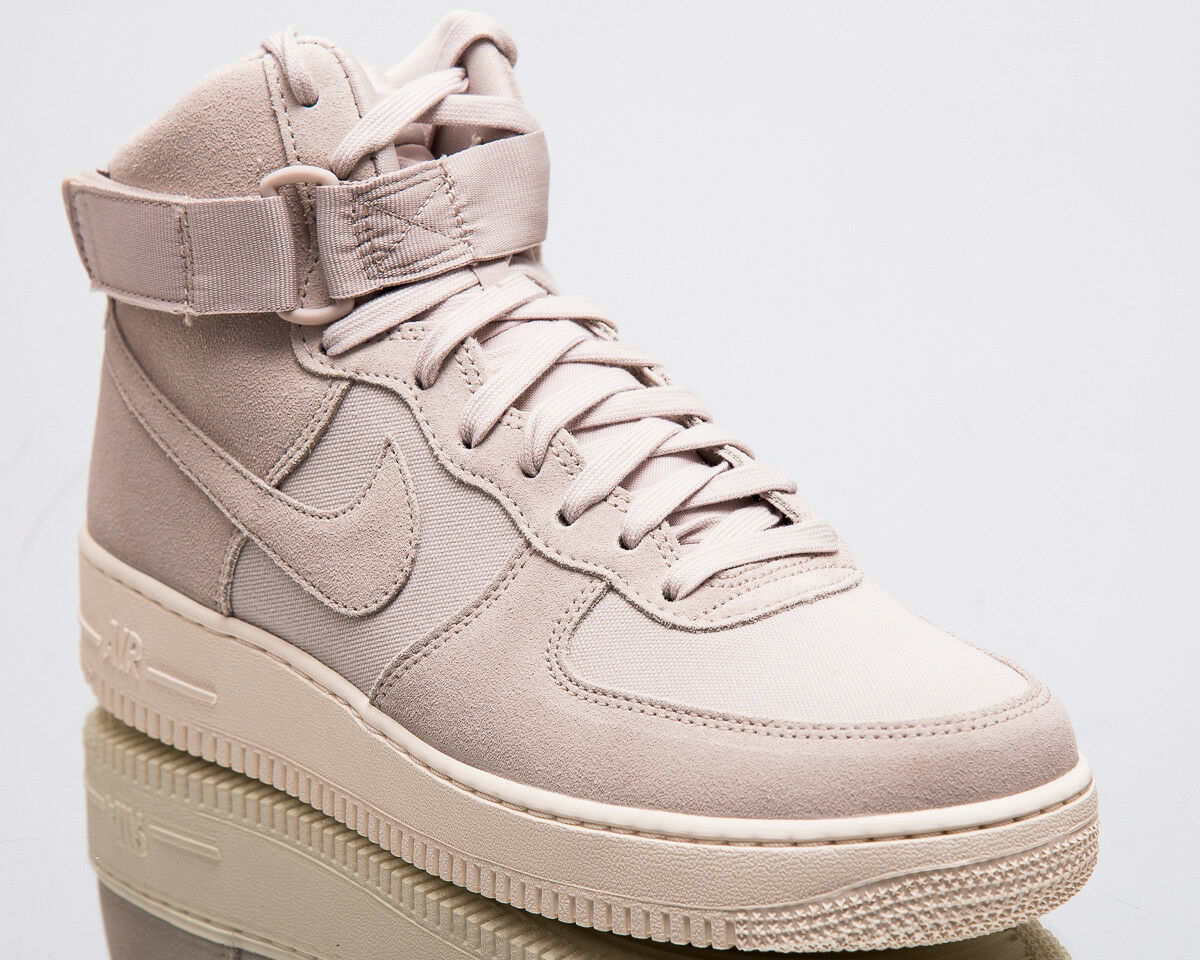 Nike Air Force 1 High '07 Suede Uomo New Desert Sand Lifestyle Scarpe AQ8649-001