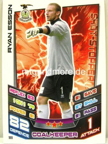 Scottish Premier League Match Attax 2012//13 SPL #111 Ryan Esson