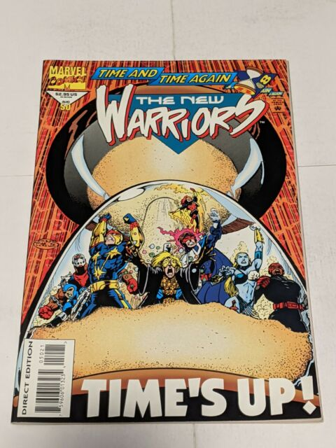 The New Warriors #50 August 1994 Marvel Comics Glow In The Dark