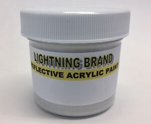 Respectueux Lightning Brand Reflective Paint Trial Size