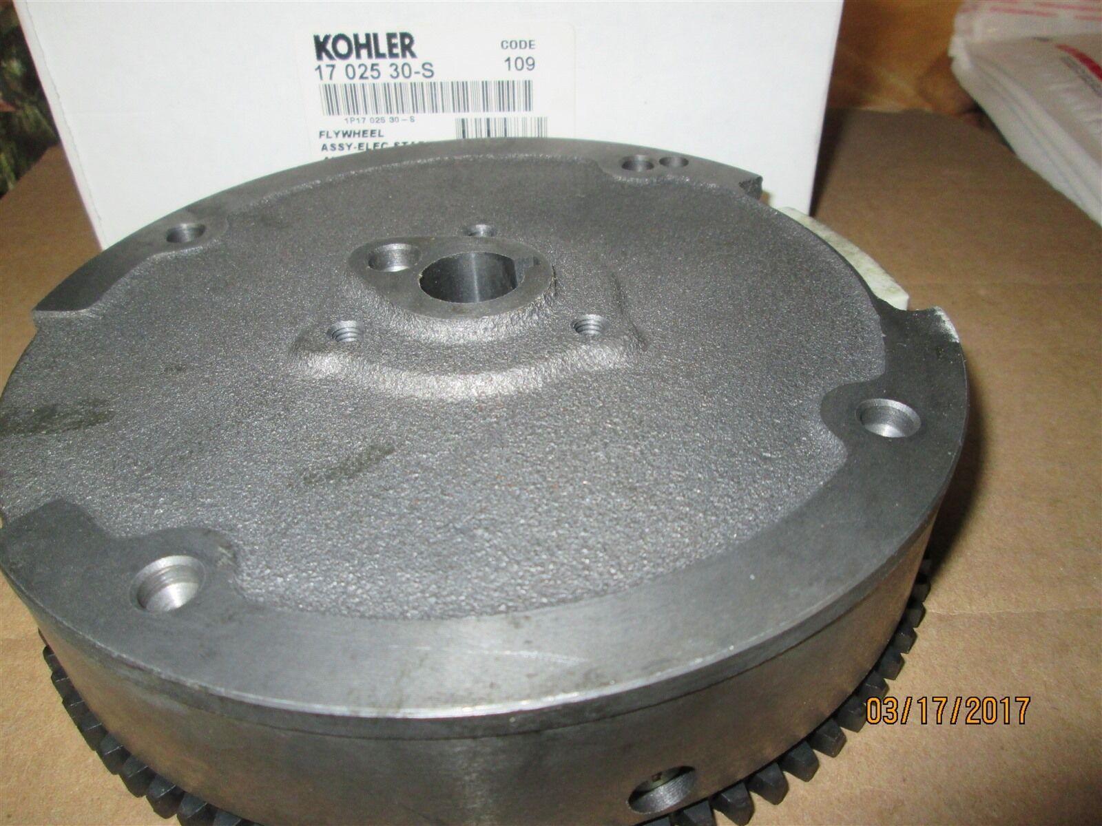 Genuine OEM Kohler volante ASSY-elec Inicio 3 Amp parte   17 025 30-S