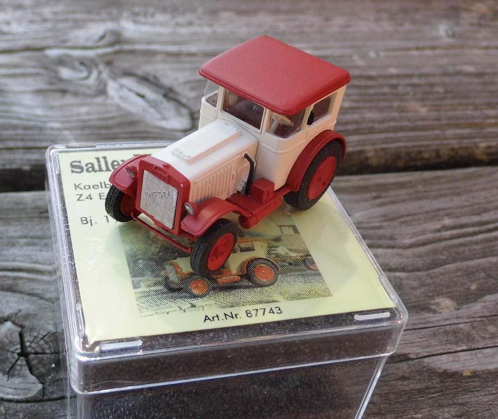 Kaelble Tractor Z4 Express Schultheiss of 1933-by Saller 1 87