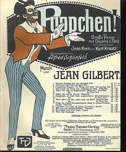 034-Puppchen-Du-bist-mein-Augenstern-034-von-Jean-Gilbert-uebergrosse-alte-Noten