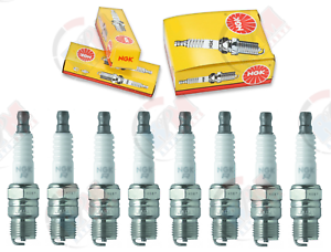 Set of 8 NGK Standard Plug Spark Plugs 4323 BR6FS 4323 BR6FS Tune Up Kit Set