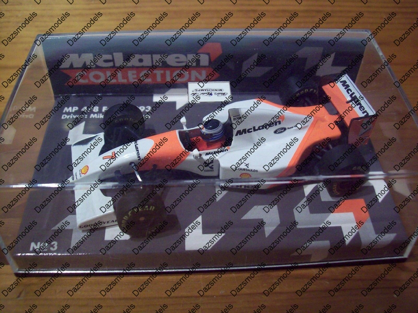 Minichamps F1 McLAREN FORD MP4 8 1993 M. Häkkinen 530 930017