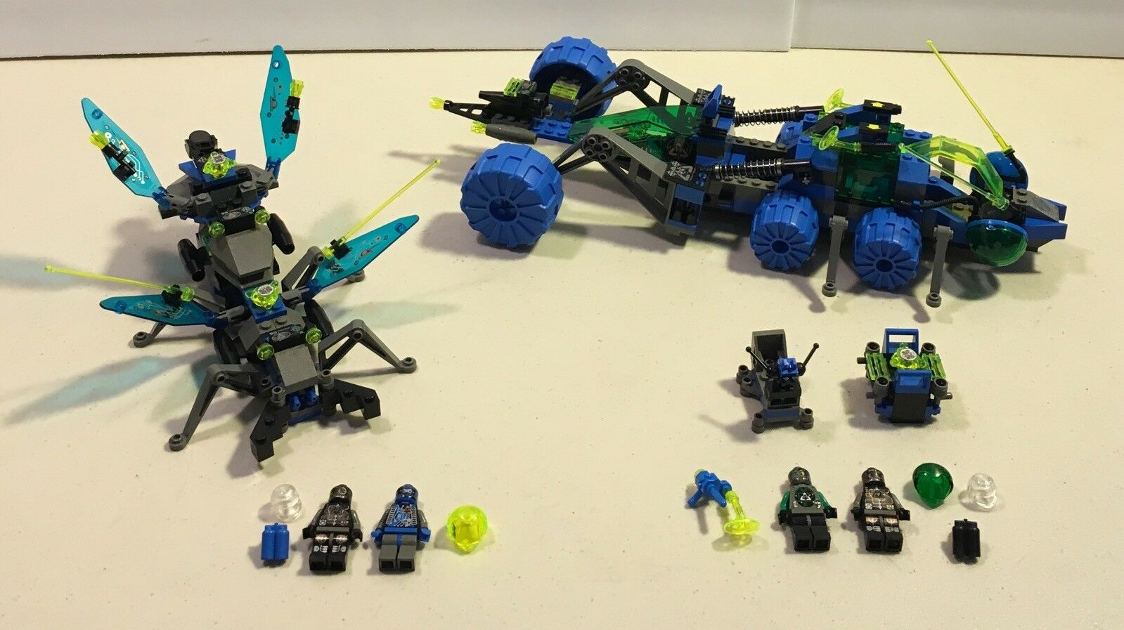 Lego Insectoids 6905 Bi Wing  Blaster 6919 Planetary Prowler spazio Bug 1998  l'ultimo