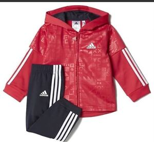 154240f21 Image is loading adidas-3-stripes-shiny-luxurious-tracksuit-infants-for-
