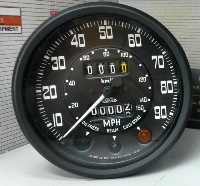2a Tachometer Land Rover Series 1 2