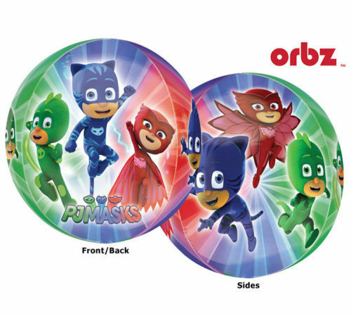 """PJMASKS Birthday Party Supply 15 in/"""" ORBZ Balloon Party Supply"""