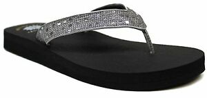 bc6d44d3b Women s Yellow Box® Mellow-Mat Tatiana Pewter-Shiny Thongs Flip-Flop ...