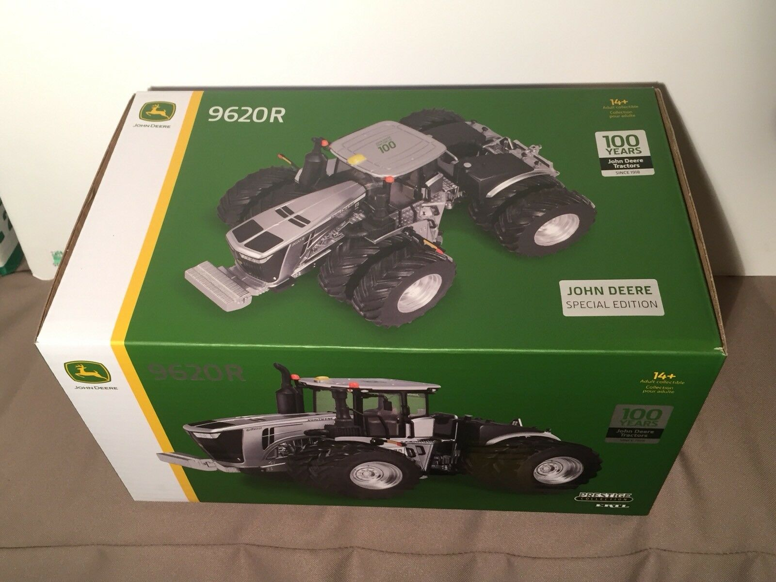 SEALED John Deere Company Special Edition Ertl 1 32 100th Anniv 9620R Tractor