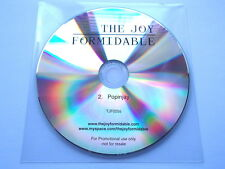 THE JOY FORMIDABLE - POPINJAY - V. RARE PROMO CD TJF020
