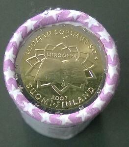 Rol-2-euro-Finland-2007-50-jaar-Verdrag-van-Rome-50-Jahre-Romische-Vertrage