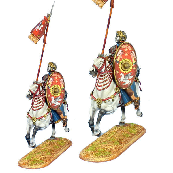First Legion  ROM18 kejserlig Roman Auxiliary Cavallery ståard Bearer