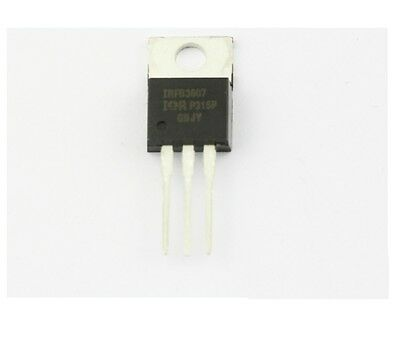 5PCS IRFB3607PBF IRFB3607 Mosfet N-Channel 75V 80A TO-220 Transistor IRF3607