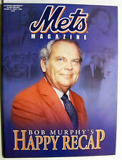 Shea Stadium Program Scorecard 1962 Bob Murphy NY Mets Leaving Happy Recap 2003