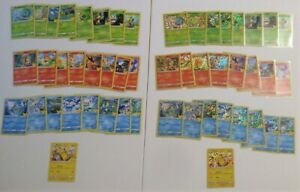 Full Master Set 50 POKEMON CARDS HOLO & NonHolo~ McDonalds 2021 25th Anniversary