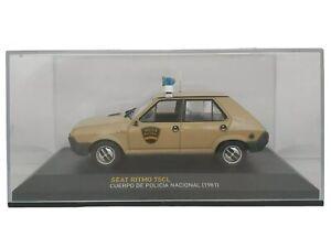 1-43-SEAT-RITMO-75CL-POLICIA-NACIONAL-1981-COCHE-METAL-ESCALA-SCALE-CAR-DIECAST