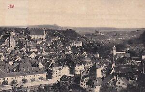 AK-Schwaebisch-Hall-HEILBRONN-20-OKT-08-Wuerttemberg-Stempel-nachverwendet