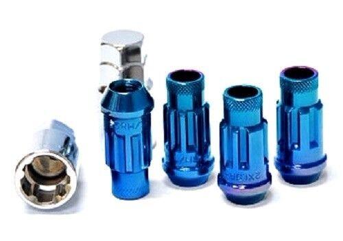 Muteki SR48 Open End Locking Lug Nuts in Blue 12x1.25 32901U