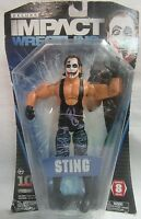 Wwe Tna Deluxe Impact Wrestling Series 8 Joker Sting Action Figure Sealed Jakks