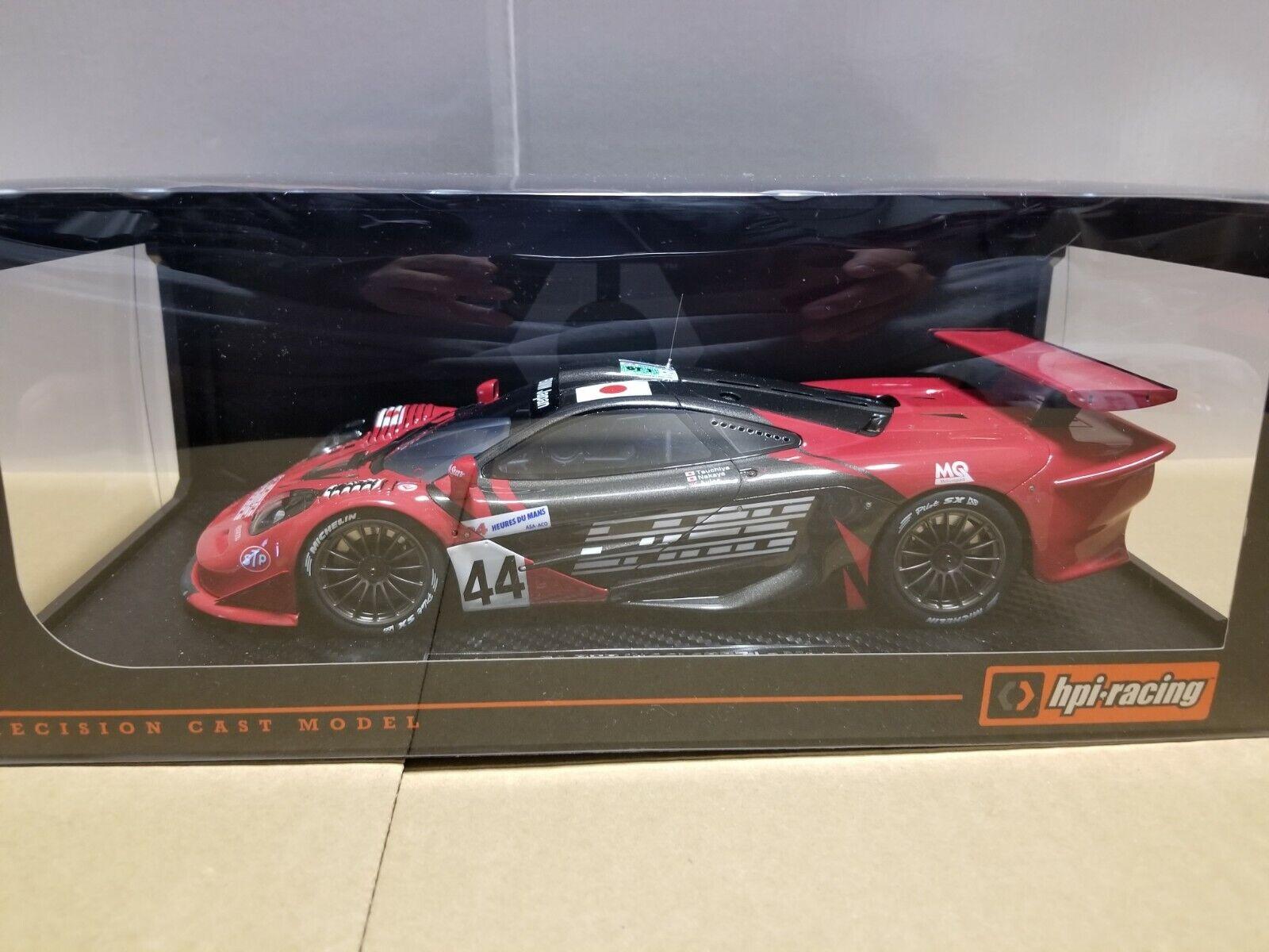 Tienda de moda y compras online. Hpi McLaren F1 GTR  44 1997 LM 8862 1 1 1 18  moda
