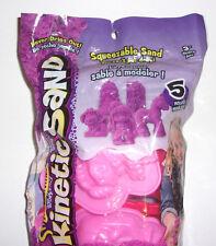 Kinetic Sand Mold Set of 5 Girls Wacky-tivities Puppy Princess New Open Bag