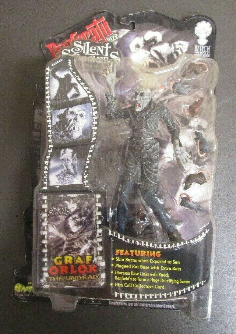 Graf Orlok the Undead AZTECH giocattoloZ Silent Screamers MOC GV   vendita outlet