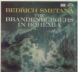 Smetana-The-Brandenburgers-IN-Boehmen-Jan-Hus-Tichy-Prague-N-O-LP-NM-VG