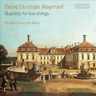 Georg Christoph Wagenseil: Quartets for Low Strings (CD, Sep-2013, 2 Discs, Accent)