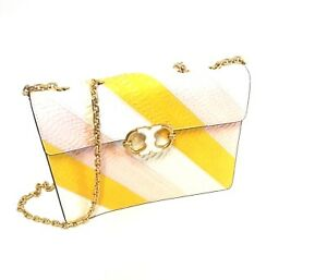 327b7a1d97c NWT Authentic Tory Burch Gemini Link Snake Chain Shoulder Bag  purse ...