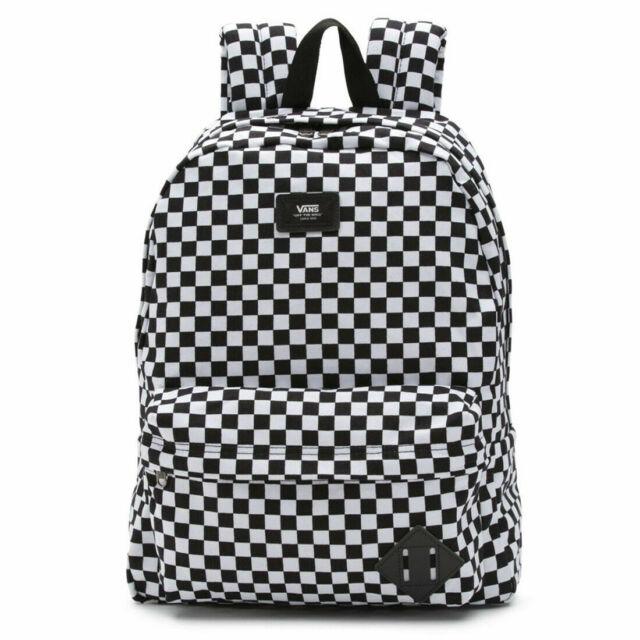 Vans VN0A3I6RHU0 Old Skool III Backpack Black White Check