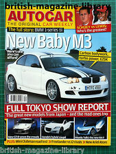 Autocar 31/10/2007 BMW 1M Road Test: Mini Clubman 1.6 Cooper D Ariel Atom 3