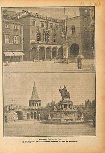 "Hôtel de Ville City Hall Raguse Dubrovnik Cratia Croatie 1919 ILLUSTRATION - France - Commentaires du vendeur : ""OCCASION"" - France"