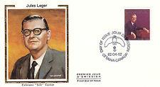 Canada FDC Sc # 914 Jules Leger with Colorano cachet- WW 7340
