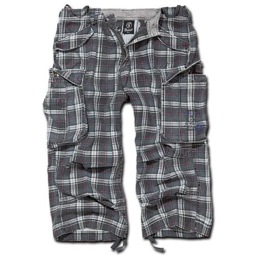 Bermuda Vintage Pants Dark Grey 3//4 Lenght Shorts Brandit 2003.21 Industry