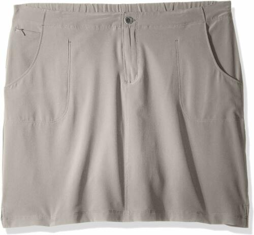"19/"" Length White Sierra West Loop Trail Skort"