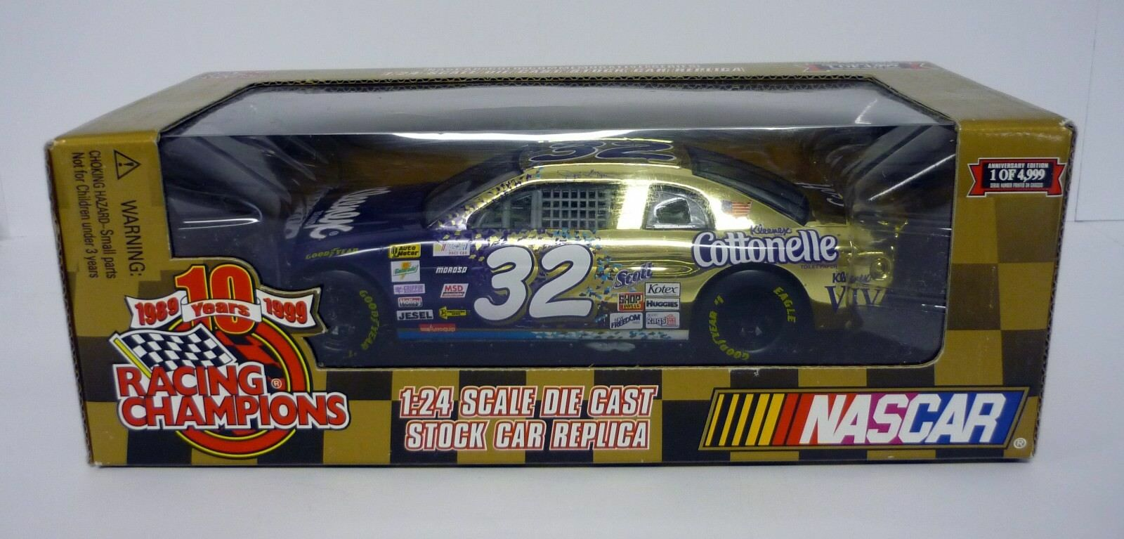 RACING CHAMPIONS NASCAR Kleenex 1 24 Die-Cast MIB Jeff Green 1999