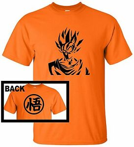 Giapponesi-DRAGON-BALL-Z-ANIME-DBZ-SUPER-SAIYAN-g2-Divertente-T-Shirt-GOKU-Cosplay