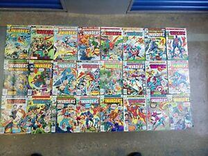 The-Invaders-The-Complete-Run-issues-1-41-Marvel-1970s-Captain-America