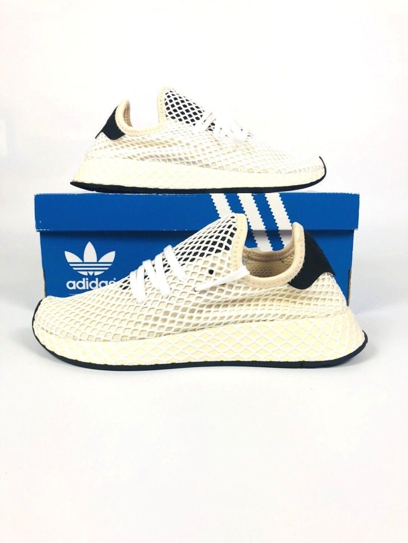 Adidas Originals Deerupt Runner W Linen Women Lifestyle Gym New shoes CQ2913