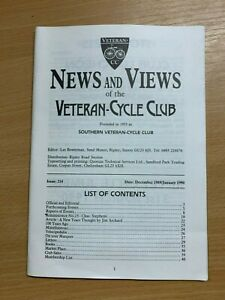Veteran-Cycle-Club-Actualites-amp-Vues-034-214-Dec-1989-Jan-1990-S-Revue-Livre