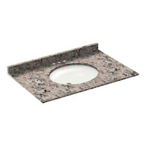 37-034-Vanity-top-with-sink-4-034-spread-Granite-Burlywood-by-LessCare-PICK-UP-ONLY