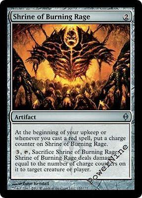 4 Shrine of Burning Rage ~ Artifact New Phyrexia Mtg Magic Uncommon 4x x4
