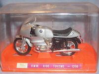1990s Guiloy 1:18 BMW-R100 RS Turismo Bike 1000cc Motorcycle Grey Black 12196