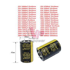 Aluminium Electrolytic Capacitor 5pcs Photovoltaic power supply Useful