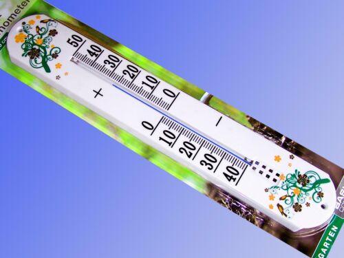 Wandthermometer bis 50cm Innen Außen Thermometer Jumbo XXL Gartenthermometer