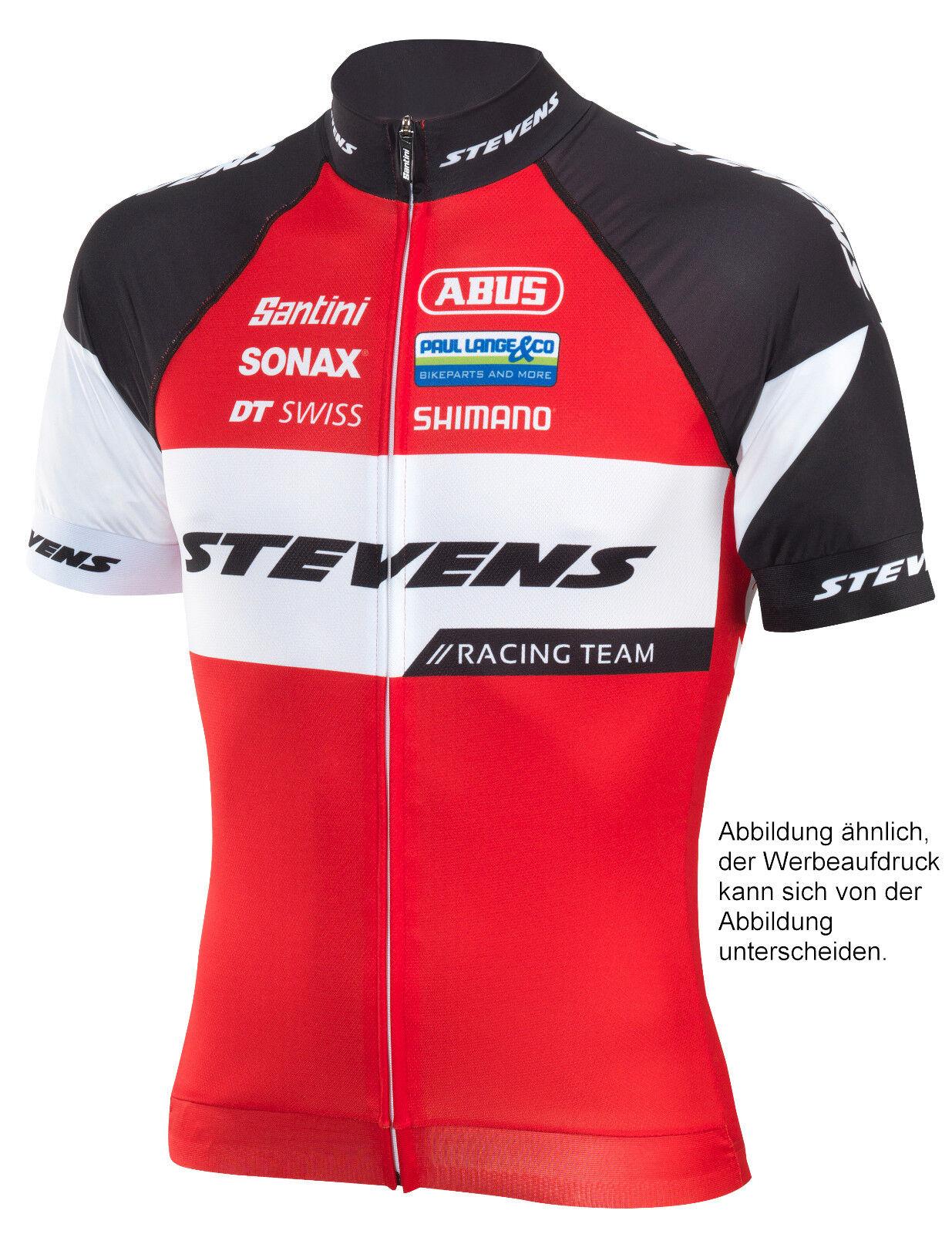 STEVENS Trikot kurzarm Racing Team 2.0 Rot Schwarz Weiss Fahrrad Fahrrad Weiss Gr. XXL RADWELT 81b081