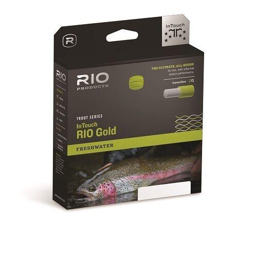Rio En Línea Mosca Dorada WF Flotante táctil (Moss  gris Dorado)  Nuevo 2019 poblaciones  Igo  popular